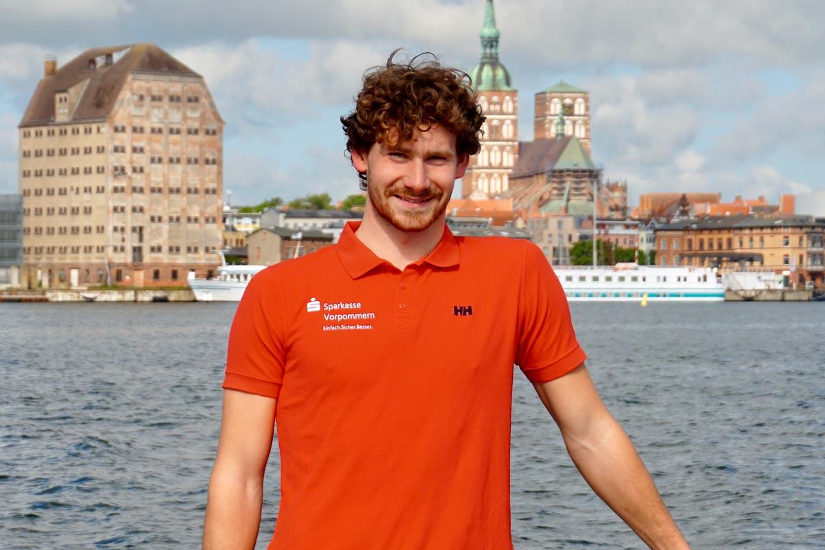 Lennart Burke für die Mini Transat 2021